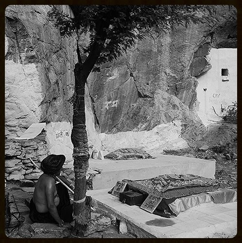 The Beggar Poet At The Graves Of The Hijra Saint And His Biological Son Off Taragadh by firoze shakir photographerno1