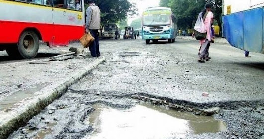 Govt Has Accepted The Suggestion That Road Contractors Should Be Penalised For Mishaps