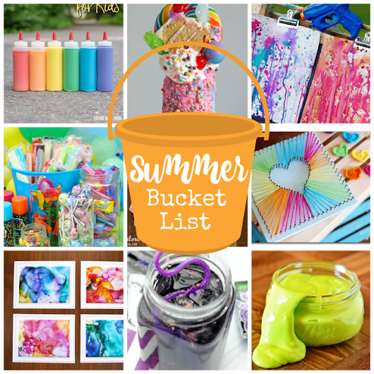 Summer Bucket List-Fun Summer Ideas for Kids – Fun-Squared