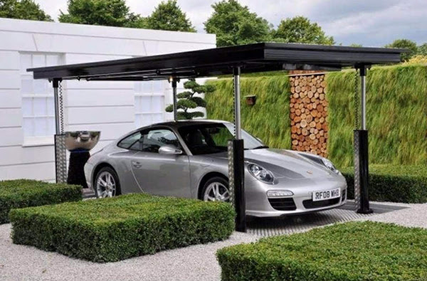 Top 5 Modern Garage Designs | InteriorHolic.