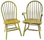 Amish Seven Spindle Windsor Dining Room Chair   Amish Dining Room ...