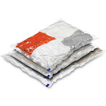 Honey Can Do Combo Vacuum Storage Bags, Clear (Pack of 3)