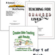 Teacher Training Workbooks Download Bundle for 1 of Each Workbook
