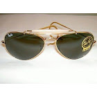 Ray-Ban RB3030 L0216 Gold Outdoorsman Sunglasses
