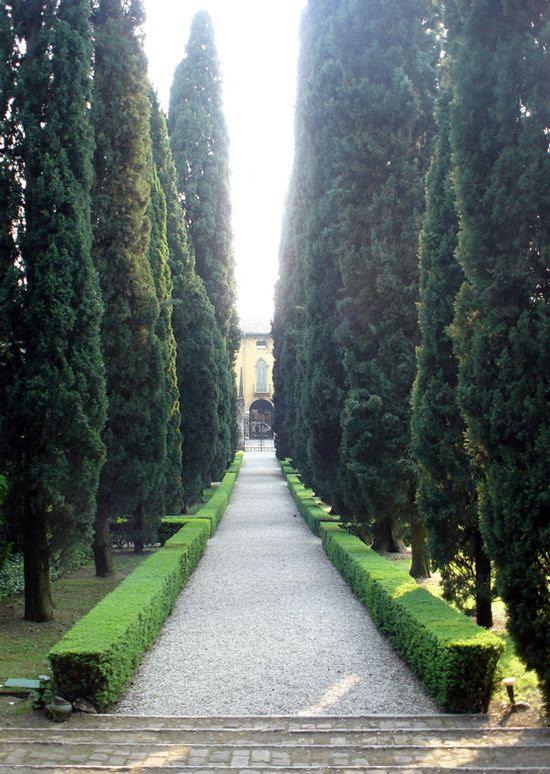 Giardino Giusti, Verona, Italy