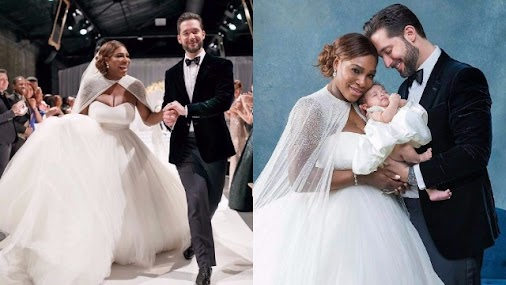 The wedding pictures of #SerenaWilliams & #Alexis Ohanian are magical...