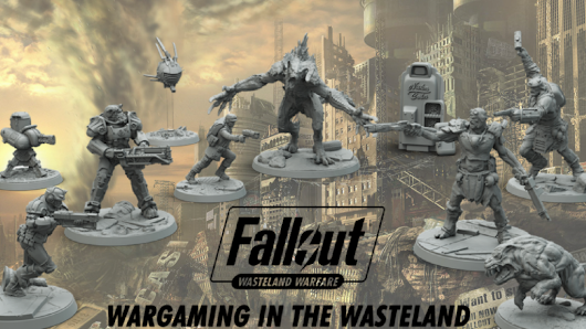 'Fallout: Wasteland Warfare' Brings Narrative Dystopia to the Tabletop | Geek and Sundry