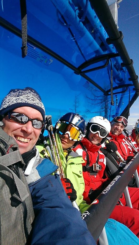 "Fridge Productions on Twitter: ""Another fun day at the office. @skiaustria @Alpendorf_ski  @SiegiTours #Skiing """