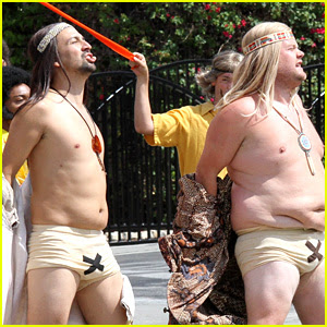 Lin-Manuel Miranda & James Corden Go Shirtless for New Crosswalk the Musical!
