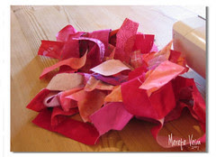 rosasøm :: #1 :: pink sewing