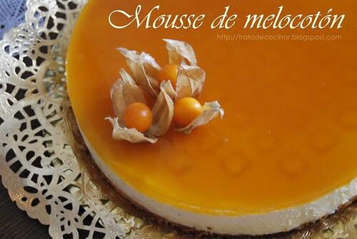 Mousse melocotón0 TC