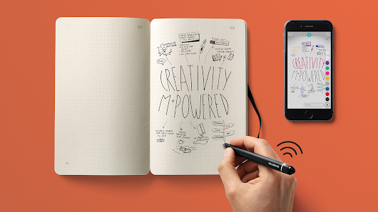 Instantly digitise your drawings with Moleskine's new paper tablet - Features