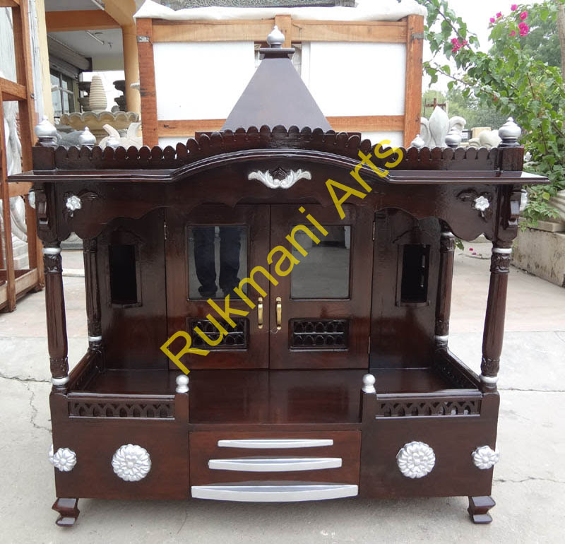 Small Wooden Temple Design For Home