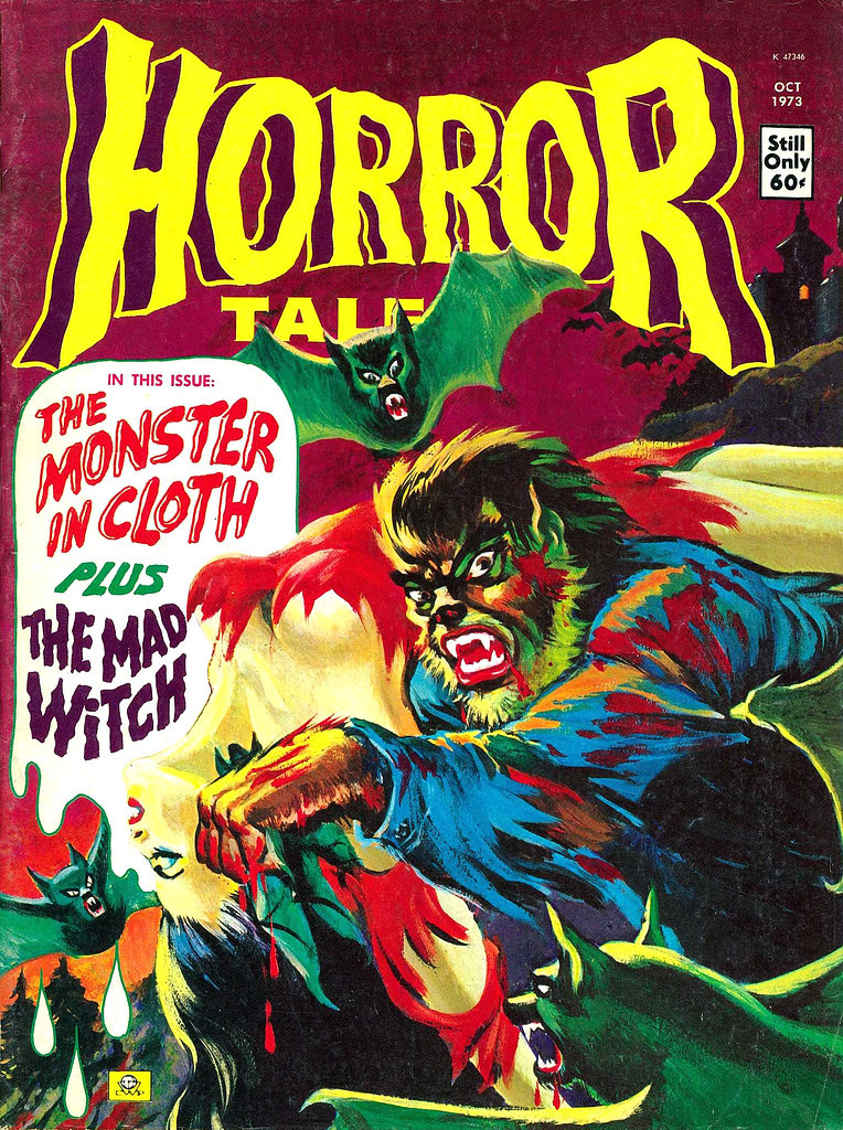 Horror Tales - Vol.5 #5 (Eerie Publications, 1973)