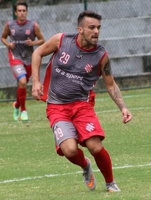 Tiago Barreiros, meia do Potiguar de Mossoró (Foto: João Carlos Gomes/Full Press)