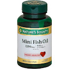 Nature's Bounty Fish Oil, 900 mg Omega-3, 1290 mg Total, Softgels - 90 count bottle