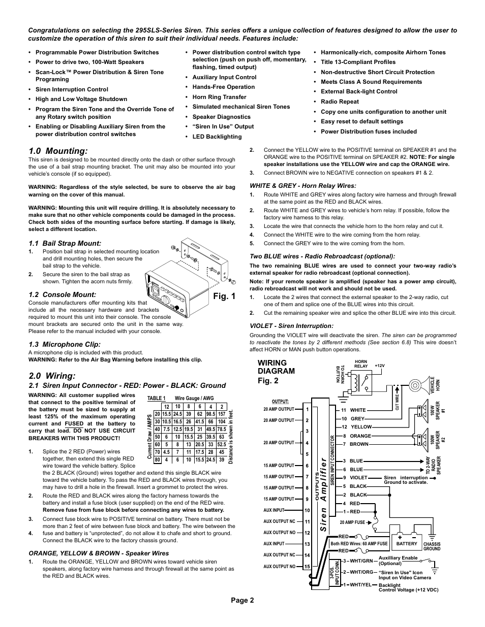 Whelen Cencom Sapphire Wiring Diagram