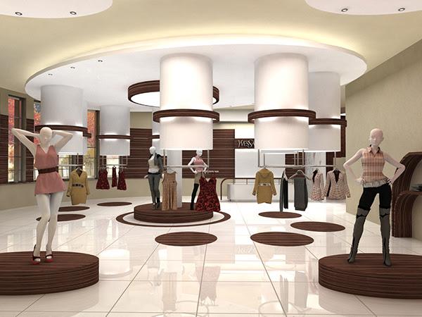 boutique / butik odzieżowy on Behance