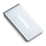 FunFlags Silver Chrome Plated Metal Money Clip FU171171