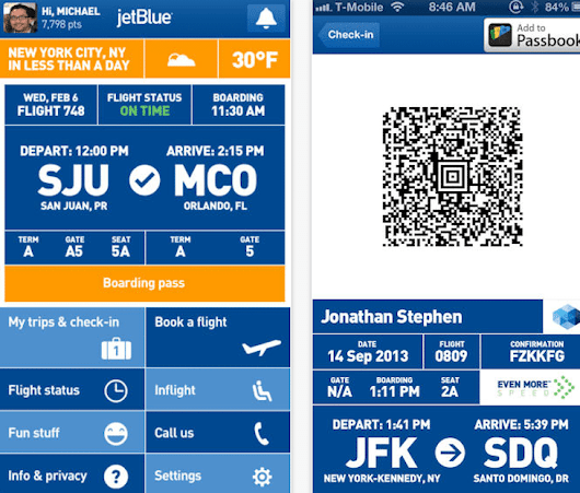 JetBlue Adds Apple Passbook Capabilities, But it Took Awhile