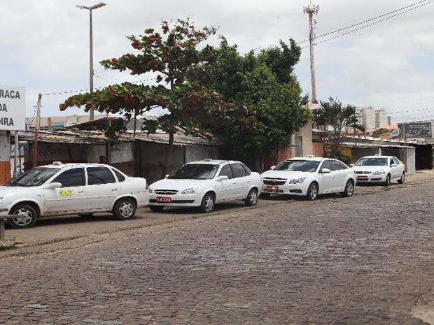arifa de táxi em São Luís teve reajuste em 2015 (Foto: Biaman Prado / O Estado)