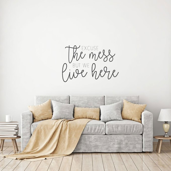 Popular Of Living Room Wall Decor Quotes