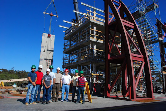 Earthquake Engineers Conduct Research on Steel Collectors