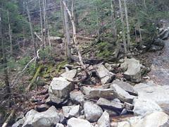 Ripley Falls via Ethan Pond & Arethusa-Ripley Falls Trails - 10/20/11