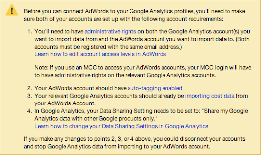 How to link Google Analytics and AdWords