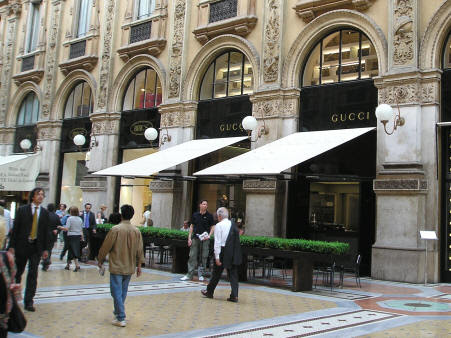 Popular Shopping Districts in Milan Italy