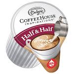 Coffee House Inspirations Half & Half, 0.38 oz, 384/Carton