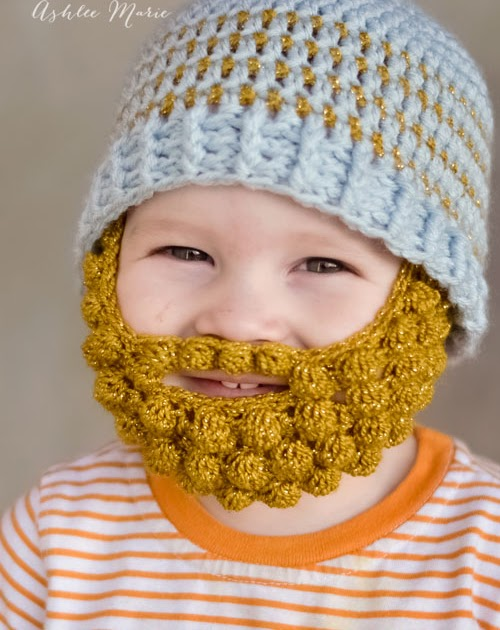 Bearded Beanie Knitting Pattern : 365 Crochet