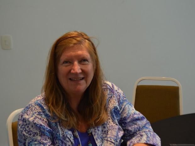 Doutora Andrea Trescot, referência mundial no tratamento da dor (Foto: Marina Ortiz/ G1)