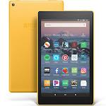 """Amazon Fire HD 8 Tablet - 8"""" - 1.50 GB Ram - 16 GB Storage - Canary Yellow"""