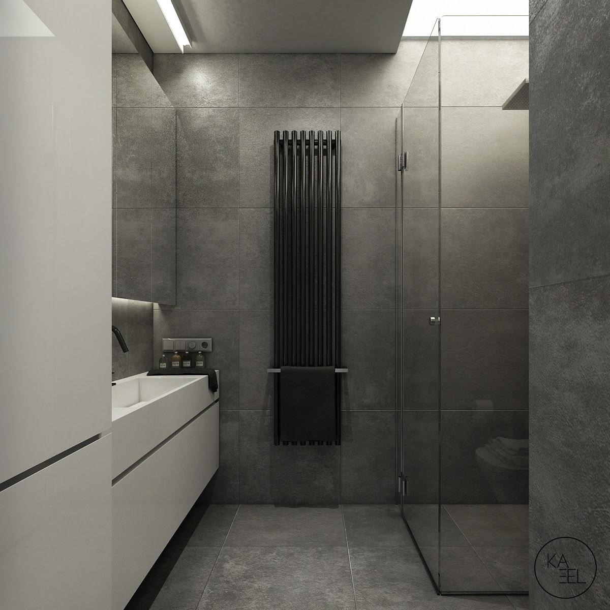   slate-tile-bathroomInterior Design Ideas.