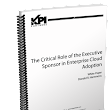 White Paper: The Critical Role of the Executive Sponsor in Enterprise Cloud Adoption