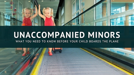 Can my child fly alone? Explaining Unaccompanied Minors