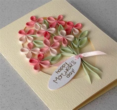 30 Quilled Mother's Day Craft Projects and Ideas   family