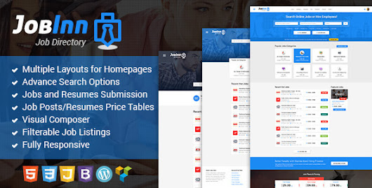 Download JobInn - Job Board & Directory WordPress Theme nulled | OXO-NULLED
