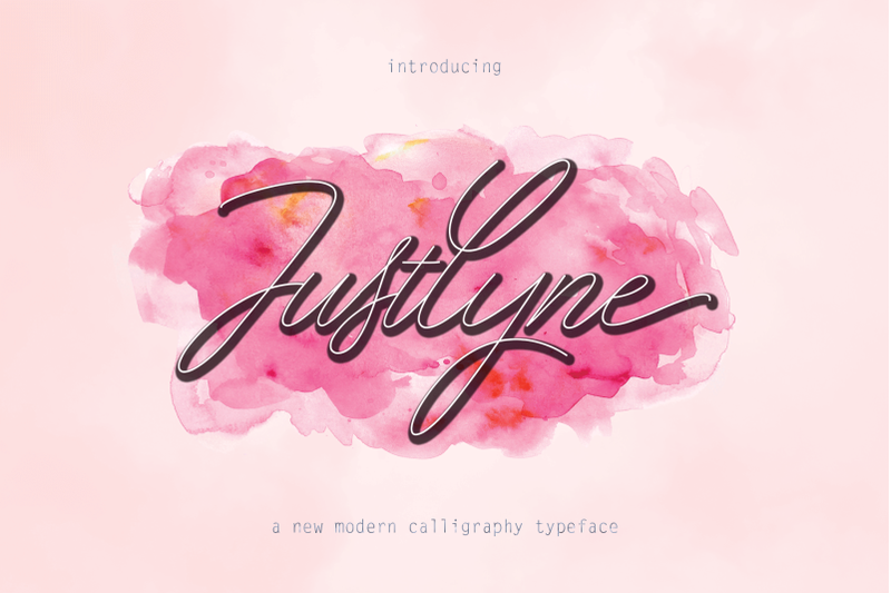 8046661f965ca Download Justlyne Font Family From DesingLabs