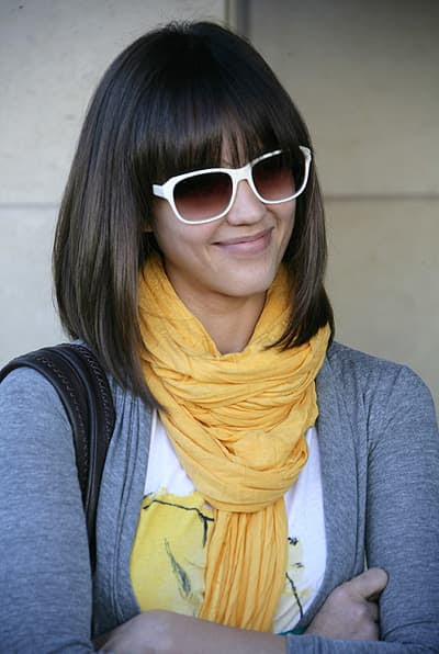 Long Bob With Fringe Cute Trendy Hairstyles