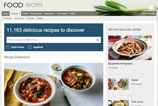 BBC Food website closure: what have we lost and who stands to benefit?