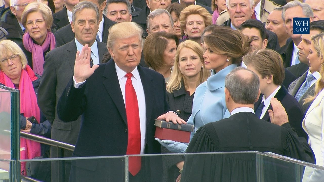 The Inauguration Of The 45th President Of The United