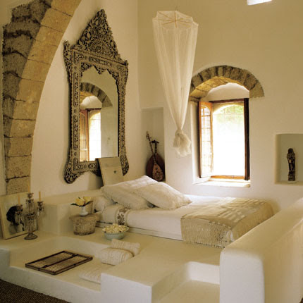 arabic house mediterranean bedroom