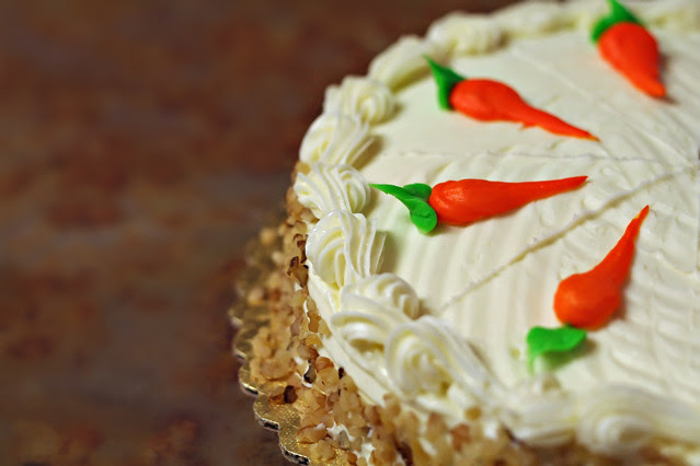 March 21, 2010: carrot cake