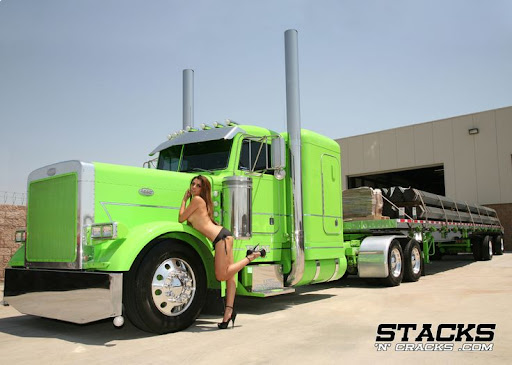 That would hot big rigs and hot babes