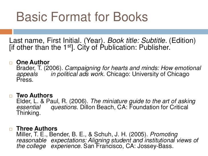 how to write titles of books in essays making