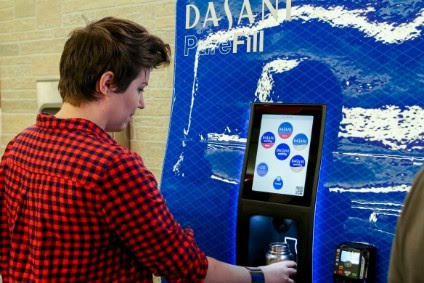 The Coca-Cola Co pilots free Dasani water fountain with a twist