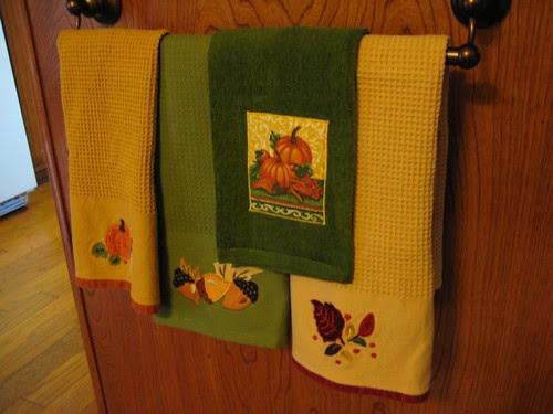 Autumn towels
