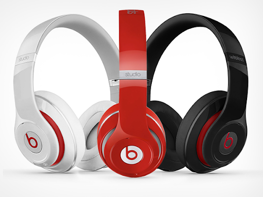 Look Fly and Bump Some Serious Tunes with a Pair of Wireless Studio 'Beats' Headphones